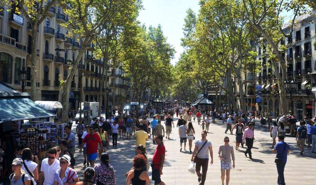 Galería de fotos: Imagen Rambla de Barcelona